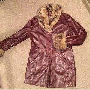 Wilsons Leather Jackets & Coats - CUTE 3 QUARTER LENGTH COAT